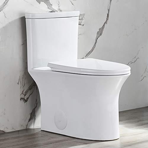 DeerValley DV-1F52676 White Ceramic Modern Dual Flush...