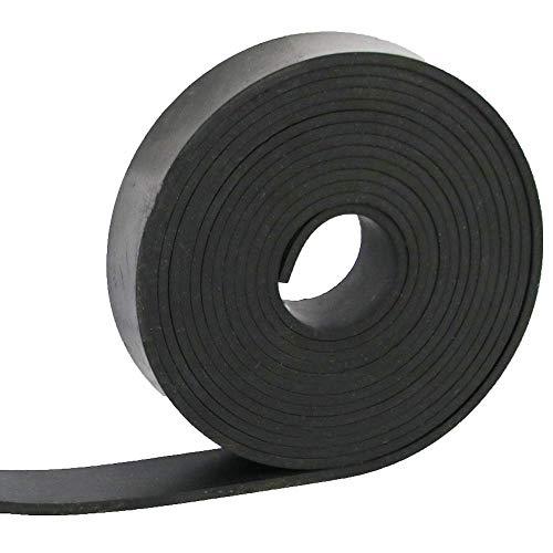 NABOWAN Solid Rubber Sheets,Strips,Rolls 1/8' (.125') Thick x 1' Wide x 118' Long Neoprene Rubber Mat