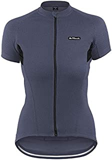 De Marchi Corsa Cycling Jersey Women's Corsa Cycling Jersey, Silver, Small