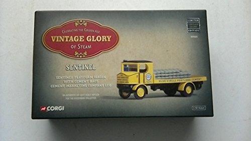 Corgi Vintage Gloire de Vapeur ~ Sentinel. Sentinel Plateforme Wagon avec Ciment Sacs/ciment Marketing Company Ltd 80005