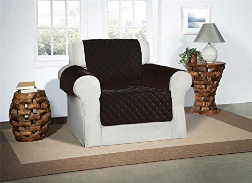 Safari Homeware Cubre Negro para Sillones - Protector de Muebles Acolchado