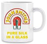 John Smith Pure Silk Glass Beer Tasse Ceramic Mug Cup