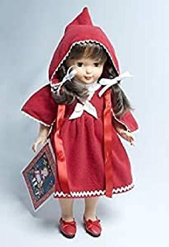 Petitcollin Petitcollin2640LETE Francette Nummerierte Edition Chap. Nathalie Lete Puppe Rouge