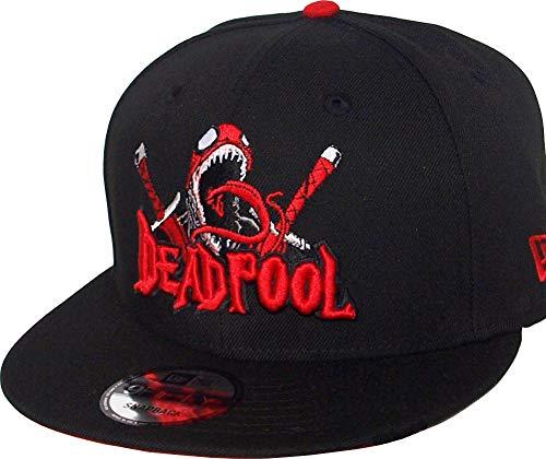 New Era Deadpool Character Script Black Red Snapback Cap 9fifty 950 Marvel Basecap Limited Edition