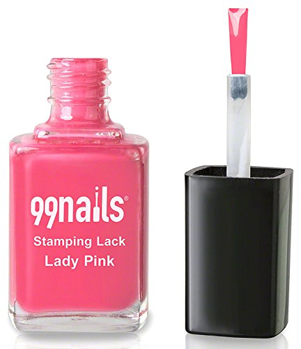 99nails Stamping Lack - Lady Pink, 1er Pack (1 x 12 ml)