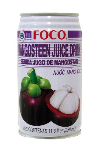 6er Pack FOCO Mangosteen Saft Getränk [6x 350ml] Mangostane-getränk