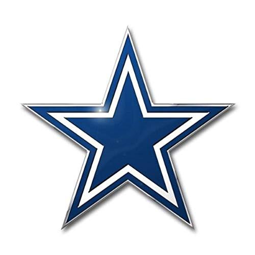 Fanmats NFL Dallas Cowboys Die Cut Color Automobile Emblem, 4' x 3'
