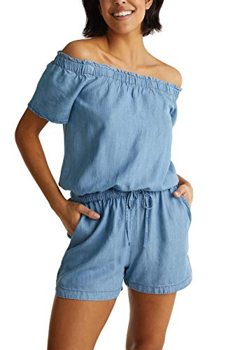 edc by ESPRIT Damen 040CC1L312 Overall, 903/BLUE Light WASH, M