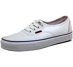 Vans Unisex Shoes Authentic True White
