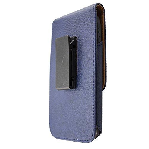 caseroxx Handy Tasche Outdoor Tasche für RugGear RG730, mit drehbarem Gürtelclip in blau