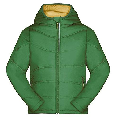 VAUDE Unisex - Kinder Hardshelljacke Arctic Fox III, basil green, 110/116, 05196