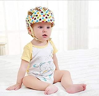 Hi8 Store Baby Toddler Safety Adjustable Helmet Head Protection Hat for Walking Harnesses (Apple Floral )