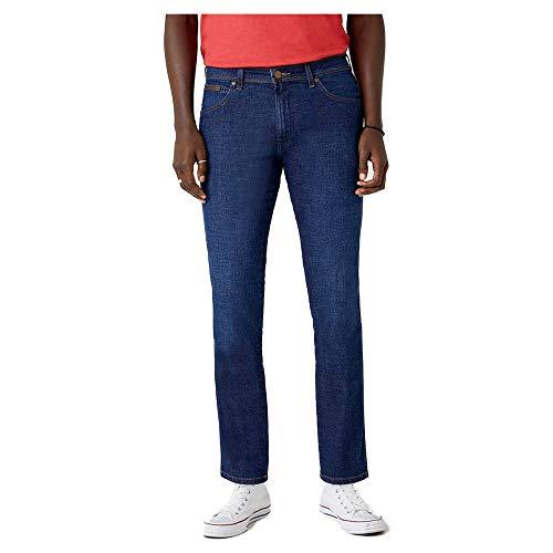 Wrangler Herren Texas Indigood Jeans, Rinse&Shine, 36W / 32L
