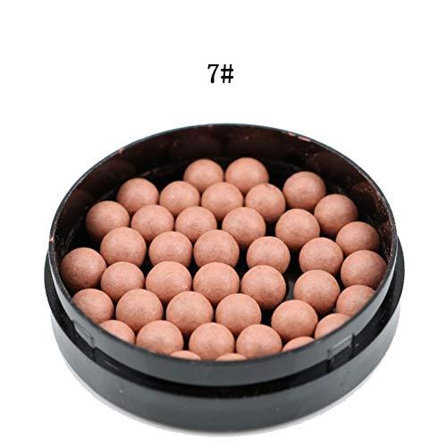 3 in 1 Erröten, Matt Rouge Ball, Erröten, Lidschatten Contour Cosmetics Powder Balls Bosixty