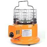 BKWJ Calentador de Gas propano de sobremesa, Calentador infrarrojo multifunción Mini Calentador de cerámica, Estufa de calefacción al Aire Libre para Camping/Tienda/Patio,Natural Gas