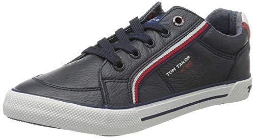 TOM TAILOR 8072903 Sneaker, Blau (Navy 00003), 38 EU