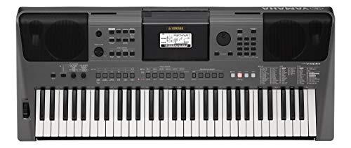 YAMAHA PSR-I500 Home-Keyboards mit Begleitautomatik , Metallic Dark Gray