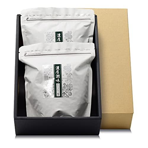 【Amazon.co.jp限定】 テンビンコーヒー 濃厚潤味珈琲ギフトセット スペシャリティコーヒー豆 やや深煎り 豆のまま 270g×2pc