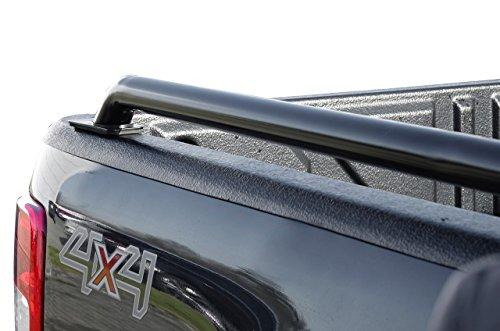 Universeel passende zwarte rail voor laadvlak 1790 mm lengte ø50 mm voor pickup accessoires, Amerikaanse Cars etc. zwart.