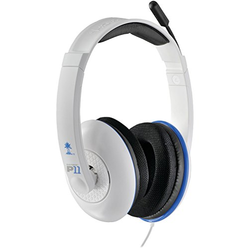 Turtle Beach - Ear Force P11 Amplified Stereo Gaming Headset - PS3 - White