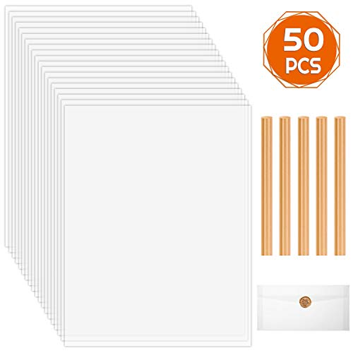 50 Sheets 8-1//2 x 11 Inches 16 lb Grid Ruled Helix Vellum Paper Pad