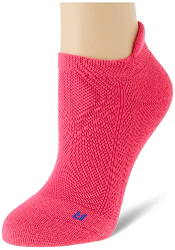 FALKE Kinder Sneakersocken Cool Kick - Funktionsfaser, 1 Paar, Rosa (Gloss 8550), Größe: 35-38