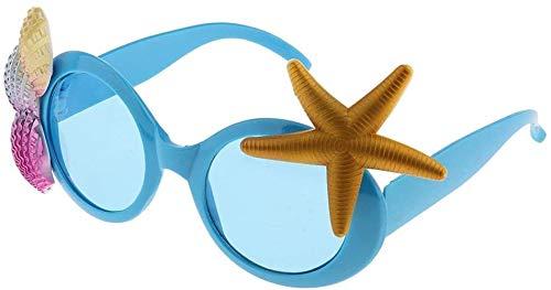 Spielzeug Toy Tropical See Seestern Shell Sonnenbrillen Abendkleid-Partei-Gläser Zubehör