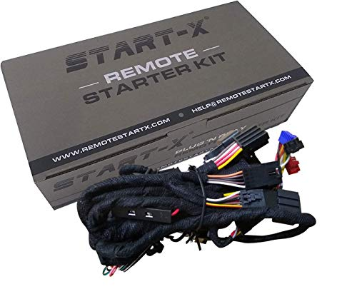 Start-X Remote Starter for Chevrolet Silverado 2007-2013 & GMC Sierra 2007-2013 || Plug N Play || 3 X Lock to Remote Start 2007 2008 2009 2010 2011 2012 2013
