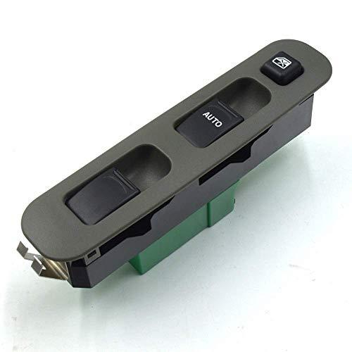 Maquer Botón de interruptor de ventana eléctrico 3799081A20/ajuste compatible con interruptores Suzuki Jimny FJ 1.3 16V 1998-2015 6350 6371 3799081A20 (color predeterminado)