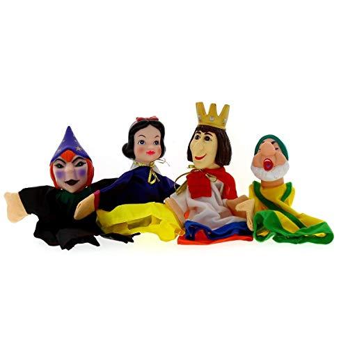 Set Titeres- Marionetas Blancanieves y Enanitos Fentoys