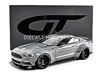 ミニカー アメ車 1/18 フォード マスタング GT-SPIRIT FORD USA MUSTANG COUPE LB WORKS 201 GREY GT264