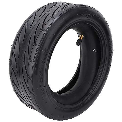 Changor Neumático de la Scooter, Ruedas Resistentes Reemplazo de neumáticos Amortiguador Material de Caucho (Negro)