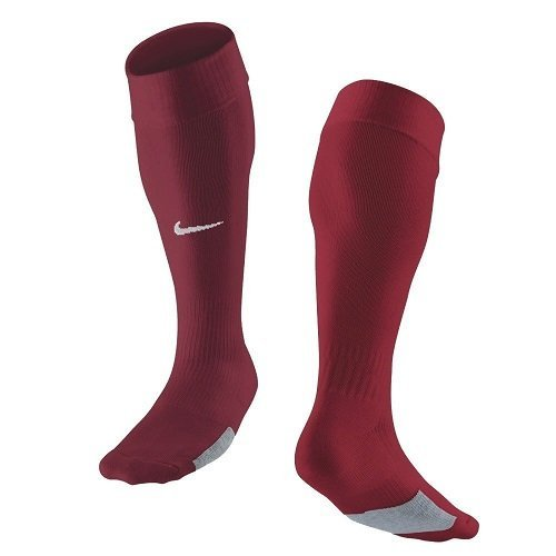 NIKE - Calcetines de fútbol para hombre, color rojo (weinrot), talla S