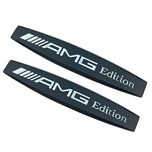 For G63 MERCEDES BENZ AMG GLOSS BLACK REAR Emblem Badge Stickers Decals Rear Crest Body with Strong 3M Includes instructions MEASURE Before Purchase Fitment Top Quality fit For ALL BENZ G CLASS pack of 1 AMDCO GLOSS BLACK