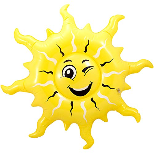 Folat 8714572202589 20258 Aufblasbare Sonne Sommer Gelb