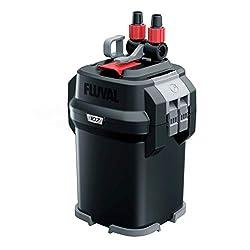 commercial Performance of canister filter Fluval107 fluval canister filter