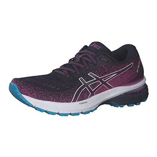 ASICS Zapatillas de correr para mujer Gt-2000 8, color Azul, talla 35.5 EU