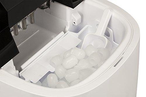 NewAir AI-250W Portable Ice Maker, 50 lb, White