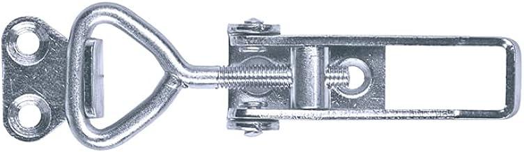 GOEBEL® - 10 stuks - excentrische sluiting 701 S kleine excentrische sluiting met rechte bodemplaat incl. tegenhaak roestv...