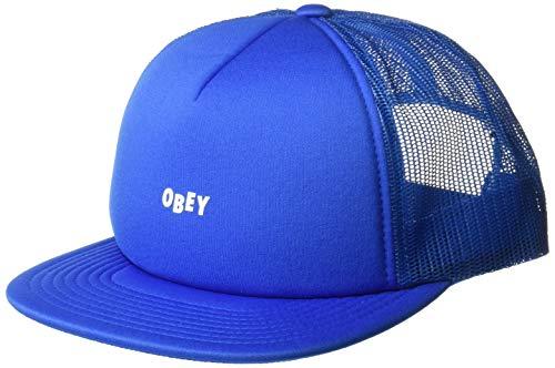 Obey Herren Jumble BAR Trucker HAT Baseball Cap, himmelblau, Einheitsgröße