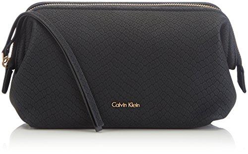 Calvin Klein Jeans JOY GIFT BOX K60K600896 Damen Kulturbeutel, 20x14x15 cm (B x H x T), Schwarz (Black 910)