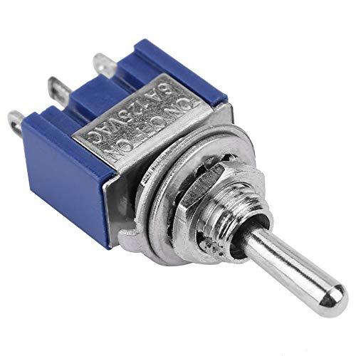 JULYKAI Interruptor Industrial, Interruptor de Palanca, 3 Posiciones para electrodomésticos para Control Industrial