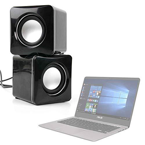 DURAGADGET Altavoces Compactos para Portátil Acer Aspire 7 A717-71G-79K5, ASUS ZenBook UX3410UQ...