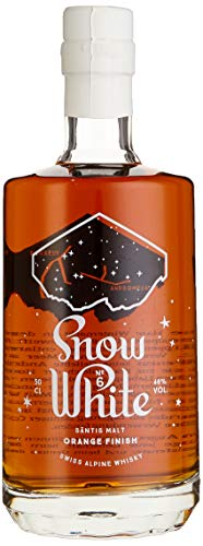 Säntis Malt Snow White No. 6 Limited Edition Orange Finish Whisky (1 x 0.5 l)