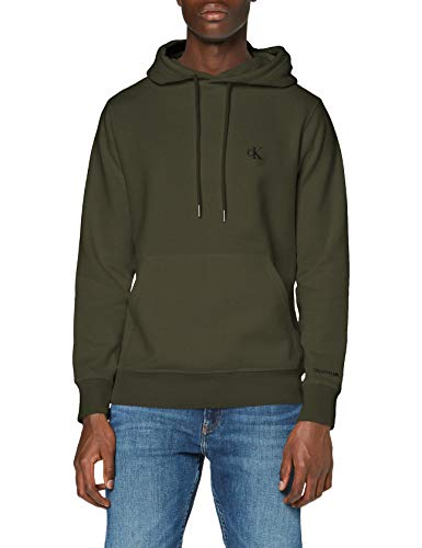 Calvin Klein Jeans Herren Ck Essential Regular Hoodie Pullover, Deep Depths, S