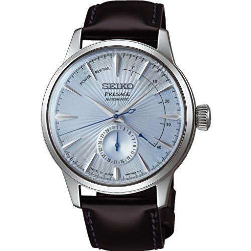 SEIKO PRESAGE Power Reserve Ice Blue Cocktail Time'Sky Diving' SSA343J1