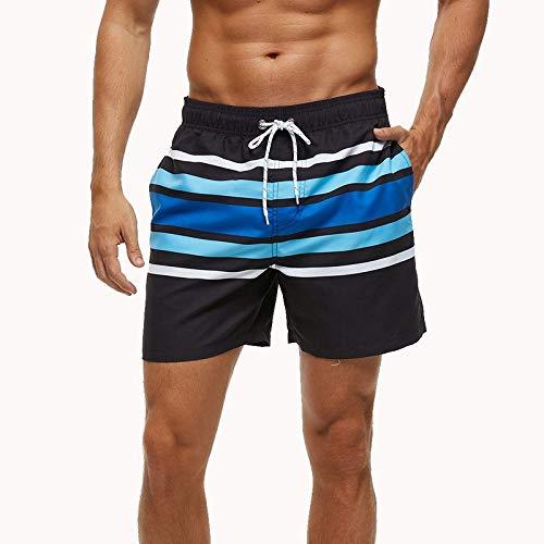 ZJMIYJ Badehose Für Männer,Quick Dry Sommer Mens Siwmwear Herren Beach Shorts Männer Laufen Sport Surffing Shorts Badehose Shorts Strand Bademode, XXXL Verschleiß