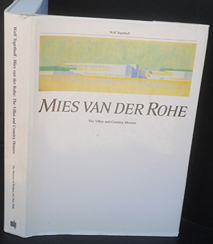 Price comparison product image Mies van der Rohe: The Villas and Country Houses
