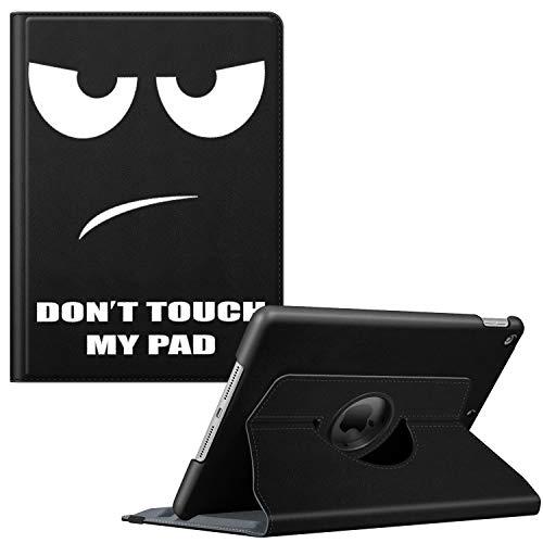 Fintie Hülle für iPad 10.2 Zoll (8. & 7 Generation, Modell 2020/2019), 360 Grad Rotierend Stand Schutzhülle Cover mit eingebautem Pencil Halter, Auto Schlaf/Wach Funktion, Don't Touch