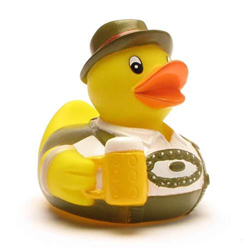 Badeente Bayern I Quietscheente I Duckshop I L: 8 cm